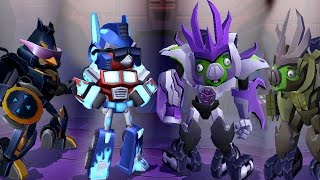 Angry Birds Transformers - Transformers at MAX Level Gameplay Walkthrough #24