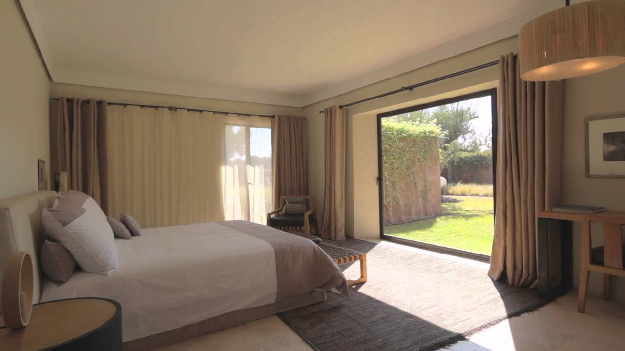 A vendre villa marrakech de luxe royal palm youtube for Villa de luxe moderne interieur chambre