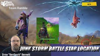 Secret Season 10 week 4 Battle Star Location Guide (Junk Storm) - Fortnite Battle Royale