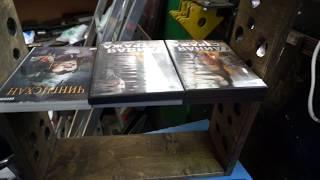 Лайфхак для хранения дисков(Мой брат сделал полку для хранения лазерных дисков из фанеры толщиной 18 мм, ширина внутреннего пространств..., 2016-08-20T11:26:07.000Z)