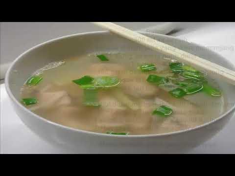 Resep Clear and Light Fish Soup Untuk Mengobati Kanker Serviks