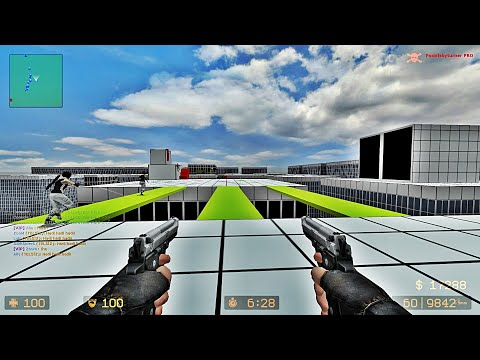 Counter-Strike: Source - Zombie Escape Mod - Ze_Mirrors_Edge_Reborn_v4_3 | NiDE
