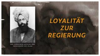 DER MESSIAS IST DA  |  Seine Lehre  -  Loyalität zur Regierung