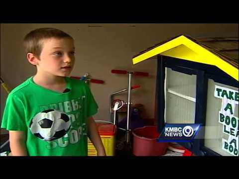 Leawood shuts down boy's little free library