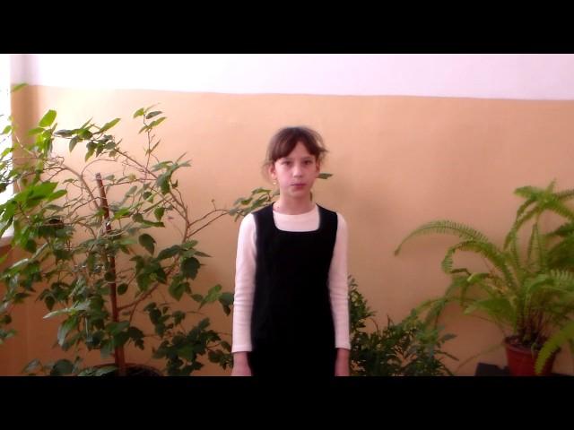 Изображение предпросмотра прочтения – ПолинаПятова читает произведение «Вдушном воздуха молчанье…» Ф.И.Тютчева