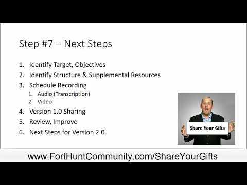 TeacherTraining Step 7