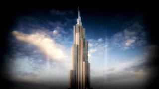 Dubai Burj Khalifa At The Top Elevator Ride (Music by Paul Baraka)
