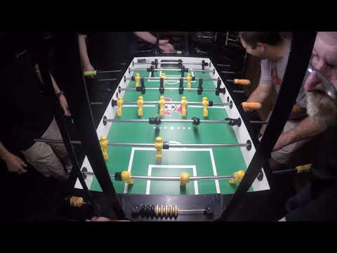 Chase Pennell and Bill vs Bernard and Nick Chicago Foosball Pick Tournament