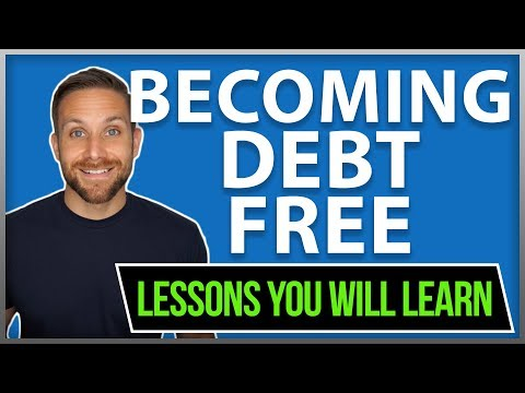$82,000 Debt Free Lessons You Will Learn Update (student loan debt credit card debt)