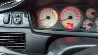 Кнопка отключения ABS на Lancer 9