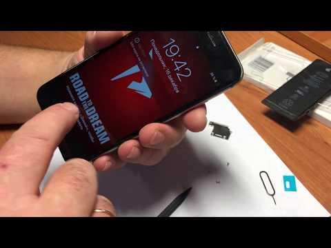 Замена аккумулятора IPhone 6s   Как заменить аккумулятор на IPhone 6s
