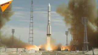 プロトンM、バイコヌール宇宙基地から発射
