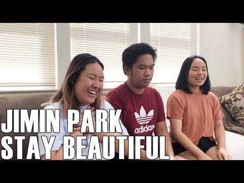 Jimin Park (박지민)- Stay Beautiful (Reaction Video)