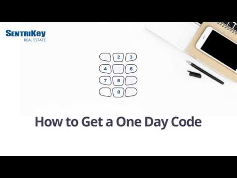 how-to-get-a-one-day-code-|-sentrikey-real-estate