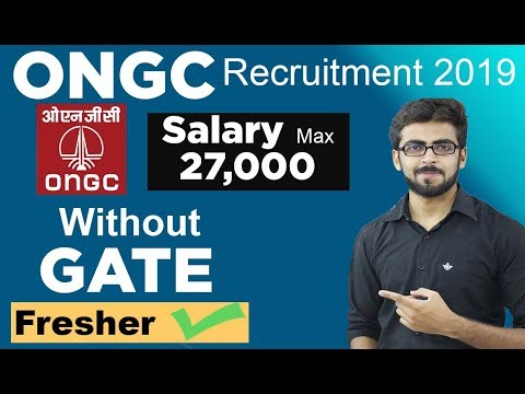 ONGC Recruitment 2019 | PSU Job Update | Fresher can Apply Without GATE | Latest Job Updates