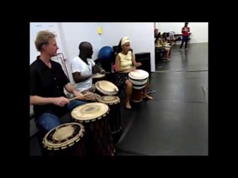 The Arts: Afrique Gninz Presents Jean-Claude Lessou African Dance Class 24/Feb/17