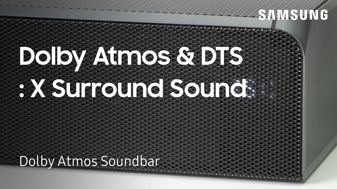 Set Up Dolby Atmos and DTS: X Surround Sound on Your Dolby Atmos Soundbar