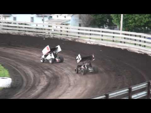 Sprint Invaders Heat 3 Southern Iowa Speedway 5/6/15