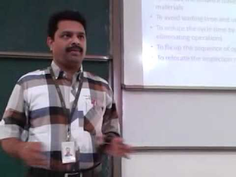 MEE308 Industrial Engineering and Management Lecture by Dr V. Sugumaran lecture 18