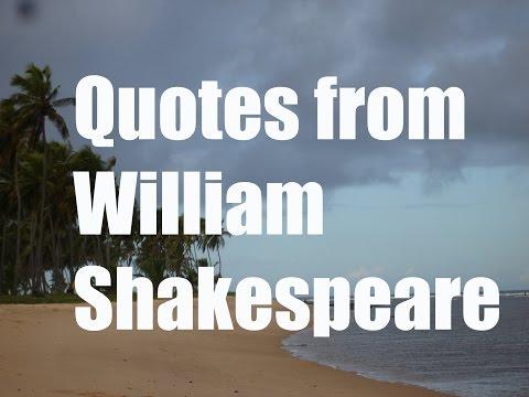 Top 5 William Shakespeare Quotes