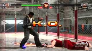 Virtua Fighter 5 Final Showdown Akira Arcade Mode