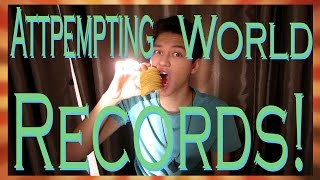 ATTEMPTING TO BREAK WORLD RECORDS!