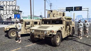 GTA 5|LSPDRF #115|EJERCITO MILITAR - USA - MARINES|EdgarFtw