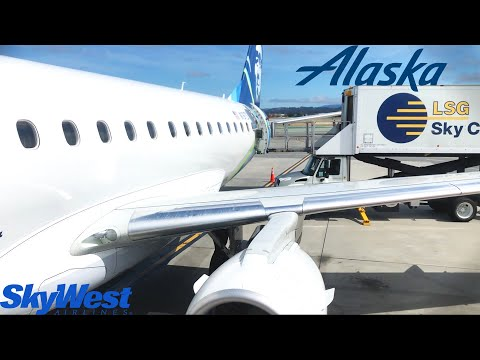 TRIP REPORT: Alaska SkyWest | Embraer ERJ-175LR | San Francisco - Dallas Love Field | Premium Class