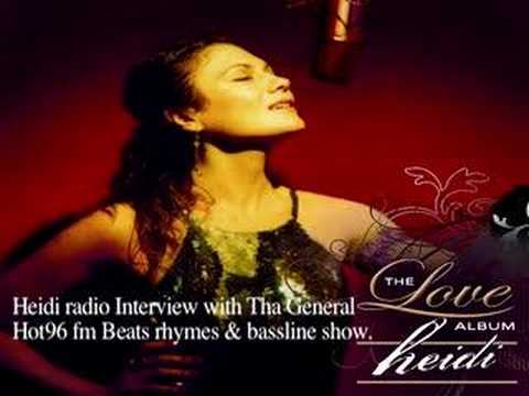 Heidi...Radio interview on Hot96 fm part1