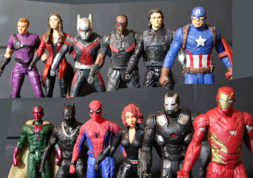 Captain America Civil War Stop Motion Film