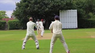 Nail Biter Cricket Match Highlights! Sanderstead CC 1st XI vs Dulwich CC 1stXI