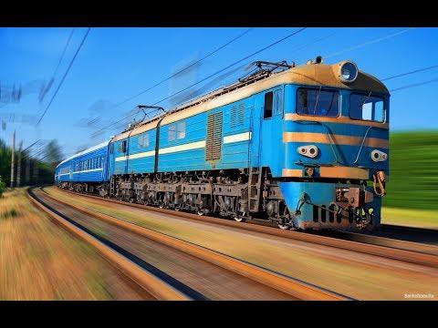 Поезда видео для детей мультфильм