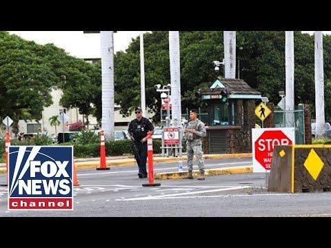 Authorities brief media on Pearl Harbor navy yard shooting