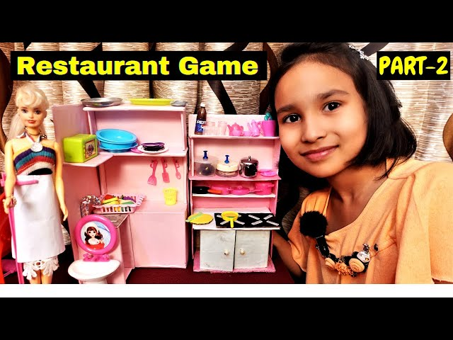 Cooking game in Hindi Part-29 / Restaurant Game PART-2 in Hindi #LearnWithPari