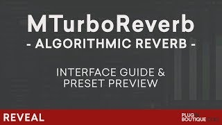 MeldaProduction MTurboReverb | Presets Preview and Tutorial | Creative Mixing Reverb