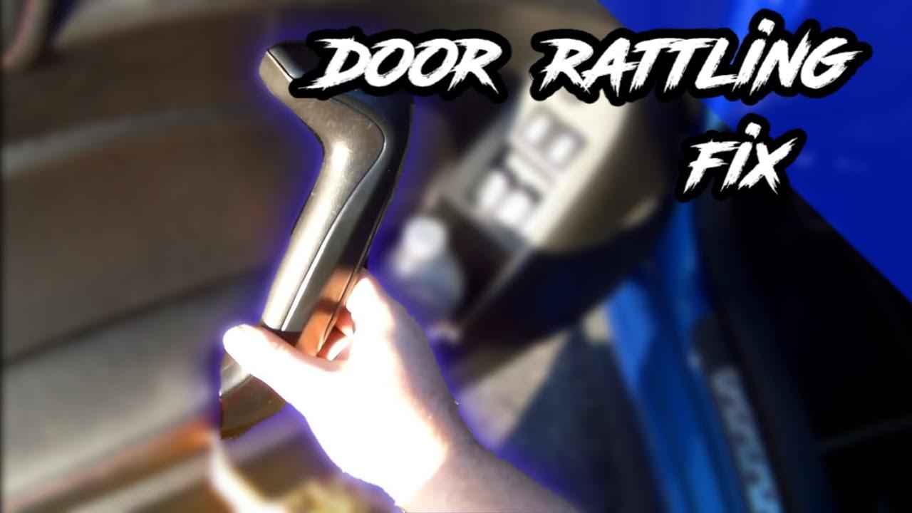 Fixing BRZ/FRS Door Rattling - YouTube