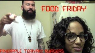 Food Friday: Pineapple Teriyaki Burgers