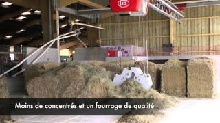 Les robots du Gaec de la Goula (Trept, Isère)