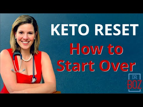 KETO Reset. Tricks To Starting Over. Find Your Keto Continuum.
