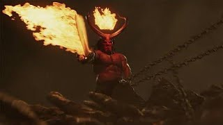 Hellboy rei do inferno visão do apocalipse cena completa Dublado HD