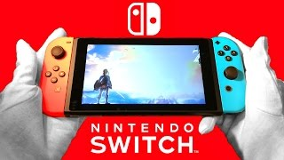 Nintendo Switch Unboxing & Review + Pro Controller