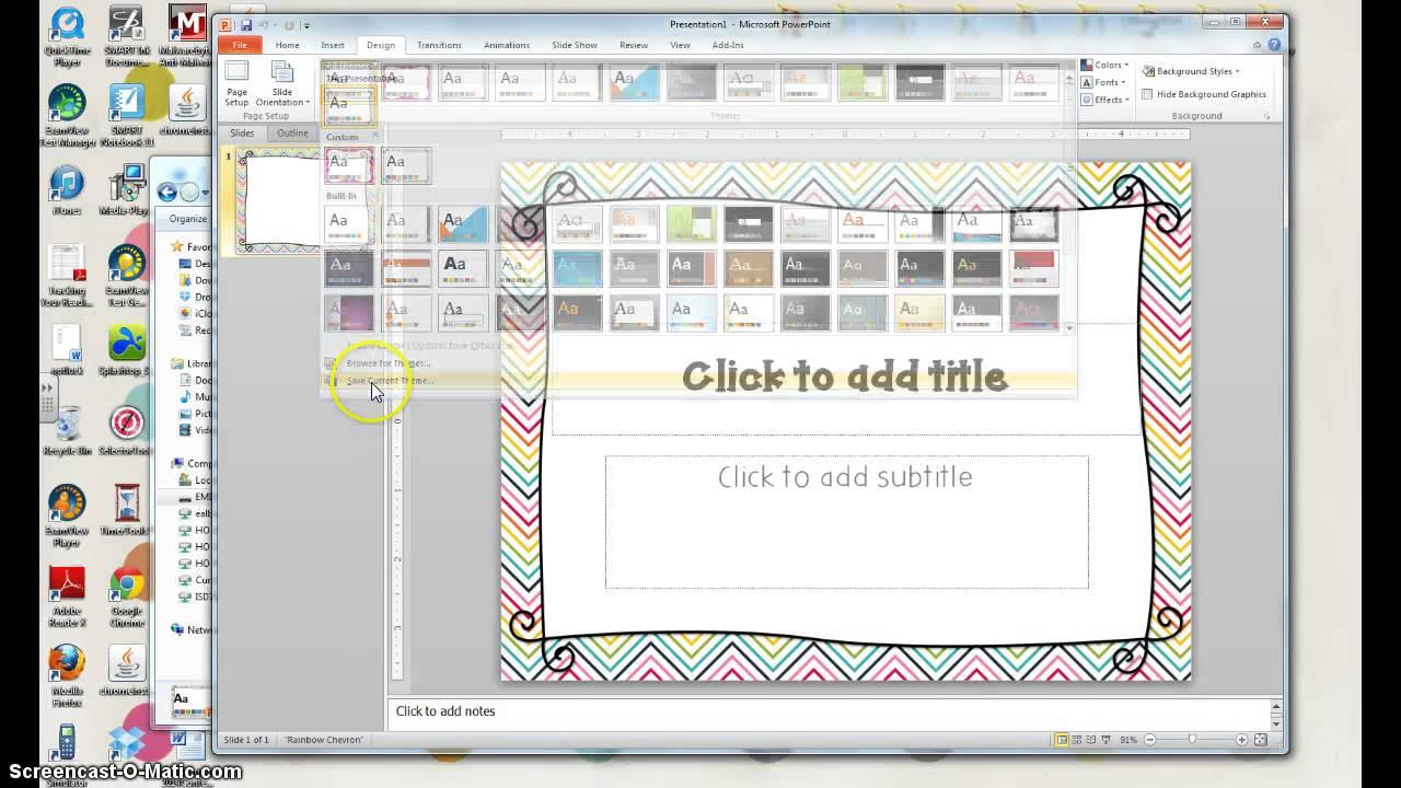 Tpt powerpoint template tutorial youtube toneelgroepblik Image collections