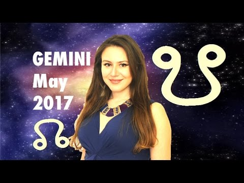 GEMINI May 2017 Horoscope. NEW Set of FATED EVENTS!! North Node in Leo predictions till 2019!!