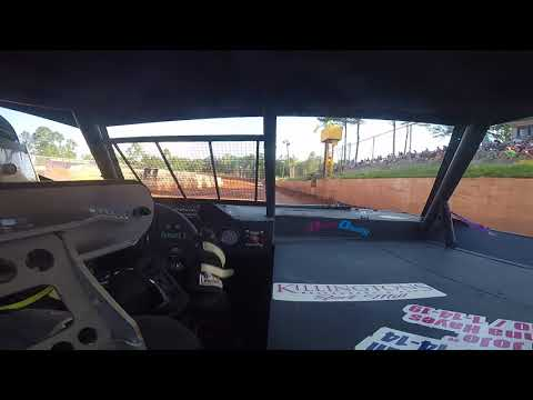 East Lincoln Speedway 5-18-19 pro 4 Front Cam Hot Laps Alexus Motes