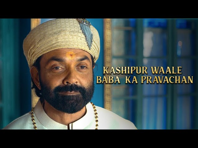 Kashipur waale Baba ka Pravachan | Aashram Chapter 2 - The Dark Side | Bobby Deol | MX Player