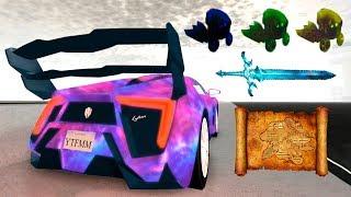 Как получить скин Вселенная на автомобиль в Vehicle Simulator Roblox space skin universe