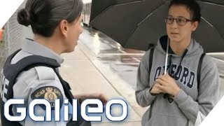 BELOHNEN statt BESTRAFEN: So arbeitet die Polizei in Kanada | Galileo | ProSieben