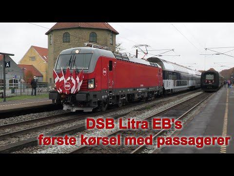 DSB Litra EB første kørsel med passagerer