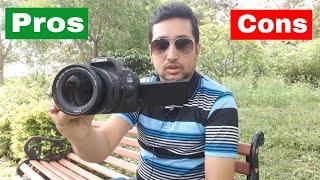 Canon EOS 200D में ऐसा क्या है जो आगे जाके परेशानी बन सकता है? DSLR camera Unboxing & Review - Hindi