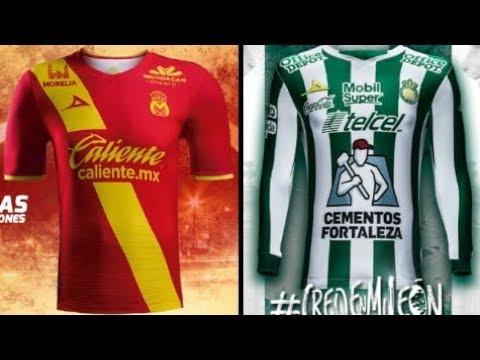 Nuevos Uniformes de Morelia y Leon Clausura 2018